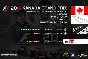 SİMÜLASYON DÜNYASI Özel Haber F1 2016 online turnuva: Kanada GP - Canlı Yayın