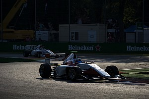 GP3 Race report Monza GP3: De Vries scores maiden win, Leclerc collides with teammate