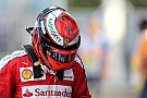 Formula 1 Marchionne tells Raikkonen: Prove you deserve new contract