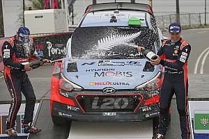 WRC Breaking news Hyundai hails Paddon's