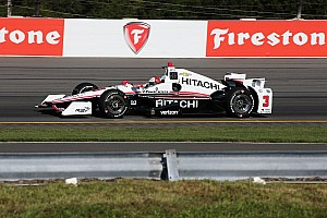 IndyCar Practice report Castroneves quickest in final practice at Pocono