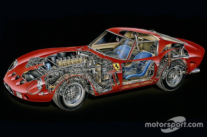 cutaway analysis ferrari 250 gto. Black Bedroom Furniture Sets. Home Design Ideas