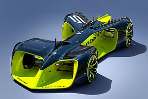RoboRace Breaking news Roborace reveals driver-less concept car for new racing series