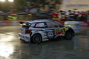 WRC Leg report Catalunya WRC: Ogier leads in heavy rain, Meeke rolls
