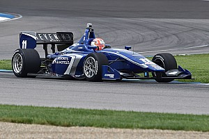 Indy Lights Qualifying report Jones blitzes Indy Lights rivals to grab IMS pole