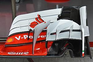 Bite-size tech: Ferrari SF16-H differing front wing configurations