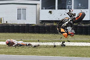 MotoGP Breaking news Marquez admits over-confidence caused Phillip Island crash