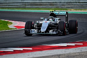 Hungarian GP: Rosberg beats Verstappen by 0.002s to lead FP3