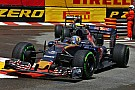 Formula 1 Toro Rosso's Carlos Sainz isn't happy with his 8th place on the Monaco GP