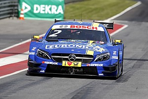 DTM Race report Robert Wickens kicks off the Motorsport Festival at the Lausitzring with a podium