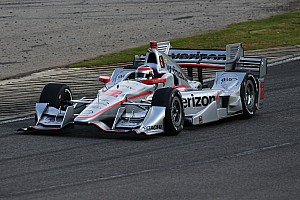 IndyCar Practice report Power leads third practice at Barber