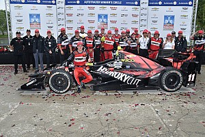 """IndyCar Breaking news """"I thought the strategy was a mess!"""" says winner Bourdais"""