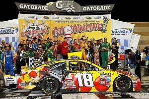 NASCAR Sprint Cup Race report After 17 attempts, Kyle Busch finally wins at Kansas