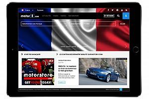 General Motorsport.com news Motor1.com Announces European Expansion, Launches  Motor1.com-FRANCE