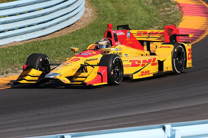 Andretti autosport re signs ryan hunter reay dhl