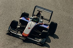 GP3 Breaking news GP3 completes shakedown of third generation car
