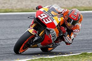 MotoGP Practice report Jerez MotoGP: Marquez leads Rossi in delayed warm-up