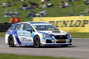 BTCC Breaking news Subaru withdraws from Thruxton on safety grounds