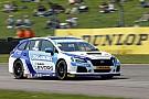 BTCC Subaru withdraws from Thruxton on safety grounds