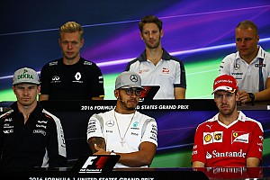 Formula 1 Press conference US GP: Thursday's press conference