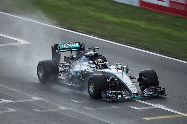 Formula 1 Breaking news Barcelona F1 test to feature wet running