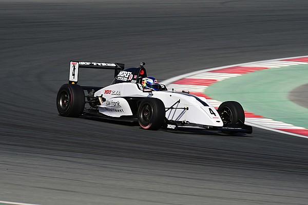Indian Open Wheel Practice report Dubai MRF Challenge: Newey dominates Thursday practice