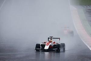 GP3 Breaking news Leclerc gets Silverstone grid drop for Calderon crash