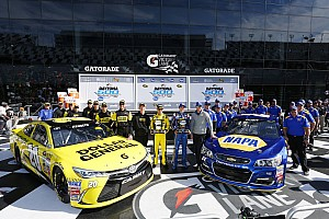 NASCAR Sprint Cup Qualifying report Daytona 500 starting line-up