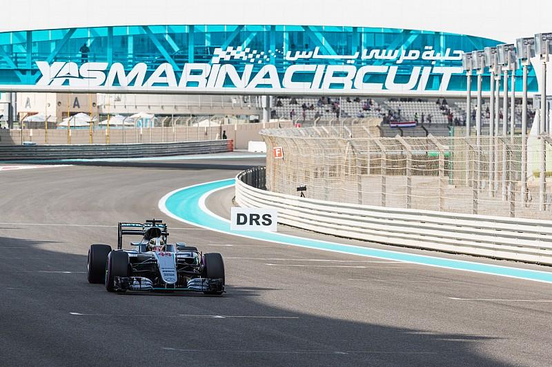 F1阿布扎比大奖赛FP1:汉密尔顿软胎超越罗斯伯格,拔得头筹