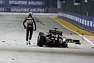 Formula 1 Hulkenberg: Run of first lap crashes