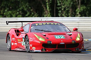Le Mans Preview Risi Competizione has two-time winners Fisichella, Vilander in Return to Le Mans