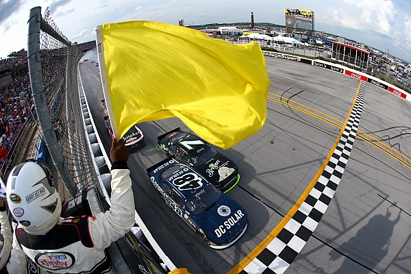 NASCAR XFINITY Poole stays positive, despite brutal loss of first win