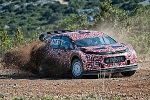 WRC Breaking news Citroen shows off its 2017 WRC car