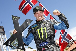 World Rallycross Breaking news Bakkerud certain it's possible to catch Ekstrom and Solberg
