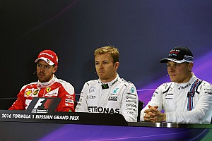 Formula 1 Press conference Russian GP: Post-qualifying press conference