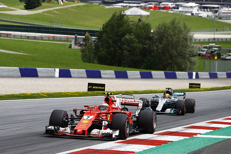 F1 Austria, libere 2: Hamilton è il più veloce, Vettel 3°