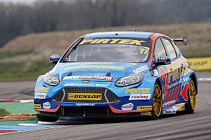 BTCC Race report Thruxton BTCC: Jordan takes first win since 2014