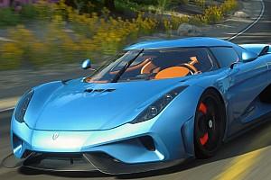 Sim racing BRÉKING A beteg állat Koenigsegg Regera: Forza Horizon 3 Vs. DriveClub
