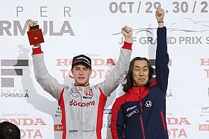 Super Formula Важливі новини Вандорн: Рік у СуперФормулі не минув марно