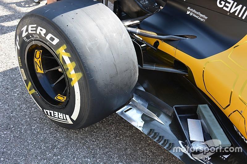 Bite-size tech: Renault RS16 floor