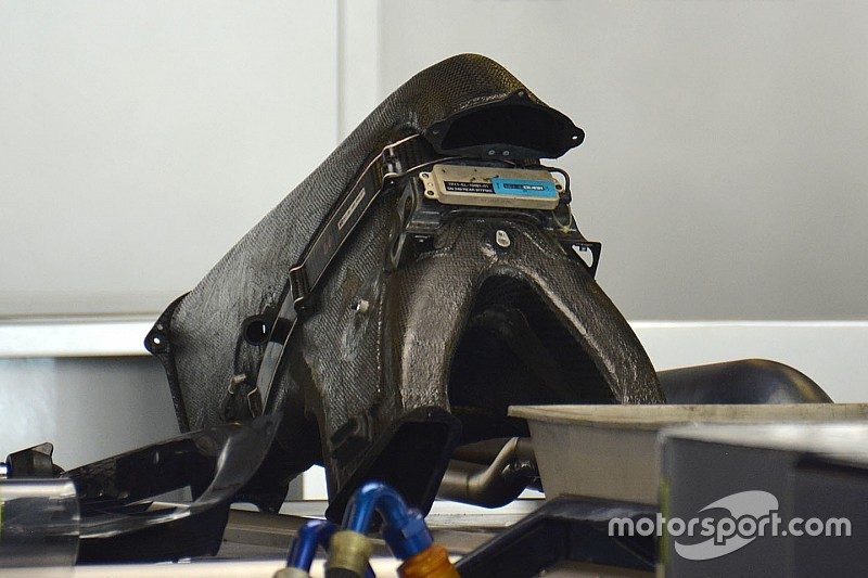 Technique - La boîte à air de la Toro Rosso