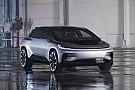 Automotive Faraday Future onthult FF 91: echt sneller dan een Tesla Model S?