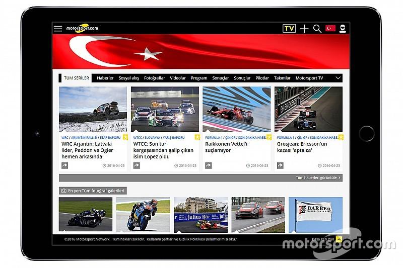 Motorsport.com придбав провідний турецький сайт про перегони - TurkiyeF1.com