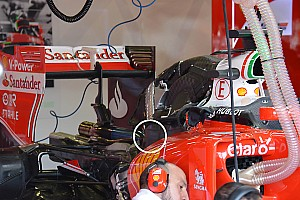 Формула 1 Аналитика Ferrari усилила кожух турбины после проблем в Сильверстоуне