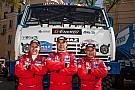 达喀尔卡车冠军车队首迎中国车手 卡玛兹的中国战略