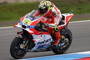 MotoGP Practice report Positive start for Ducati Team riders at Assen