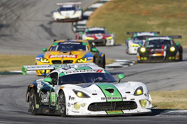 IMSA Race report Viper Exchange ends Dodge Viper IMSA racing career with a victory from the pole at Petit Le Mans