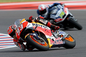 MotoGP Race report Fantastic win for Marquez, Pedrosa on the podium