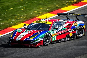 WEC Qualifying report Ferrari 488 GTE monopolises the front row at Spa