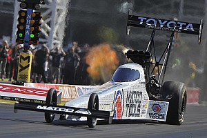 NHRA Race report Brown, Capps and Line lead their respective categories heading into Sunday eliminations